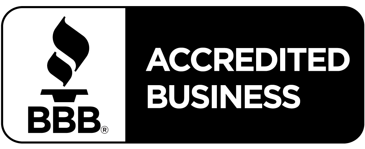 We are Proud to be BBB Accredited
